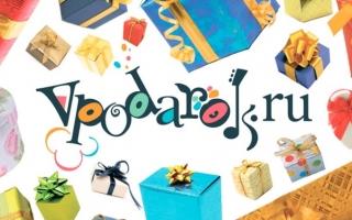 Активация и регистрация подарочной карты и сертификата Vpodarok.ru