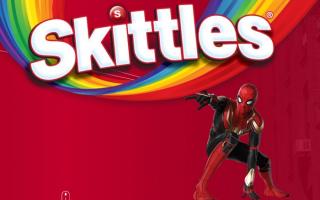 Промо акция Skittles и — зарегистрируй код и лови призы
