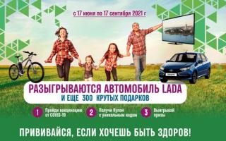 Как принять участие в розыгрыше призов за прививку от COVID-19 в Архангельской области