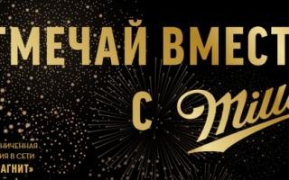 Регистрация чека от пива Миллер на miller2020.ru
