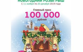 Новогодний розыгрыш Пермфармация — регистрация промо-кода на www.pharmperm.ru