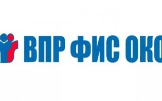 Как войти в личный кабинет ФИС ОКО и ВПР «СтатГрад»