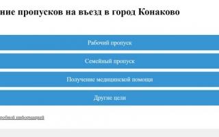 Как получить пропуск для въезда в Конаково Тверской области