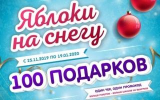 Аптека от Склада рф регистрация кода акции «Яблоки на снегу»