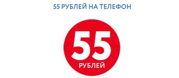 55 руб